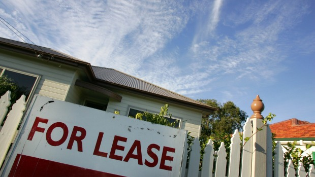 Rents on downward slide